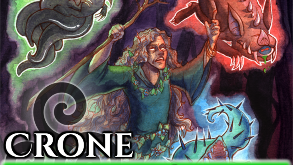 Crone: A Tabletop Roleplaying Card Game project video thumbnail