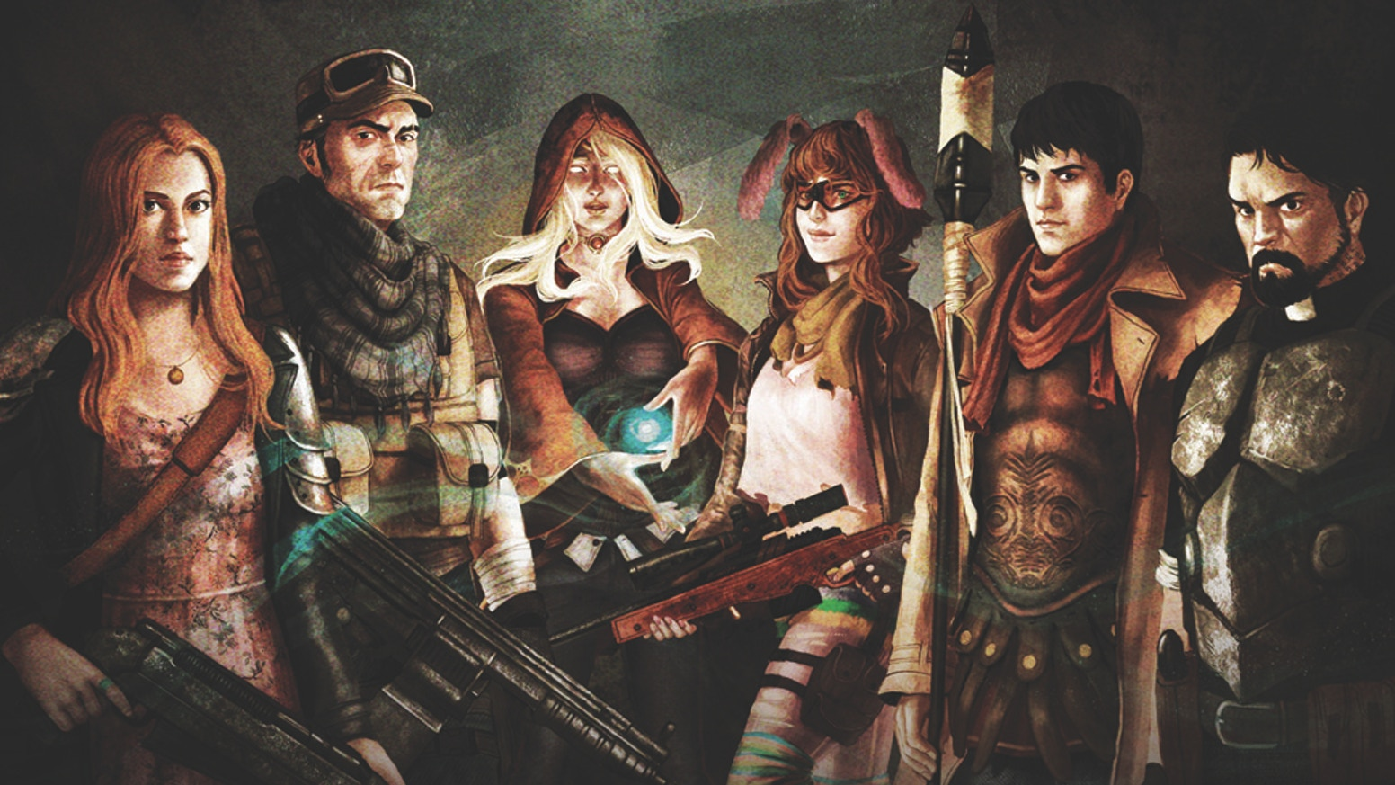 An emergent Strategic and Tactical Turn-based supernatural post-apocalyptic RPG inspired by Fallout, X-Com and Jagged Alliance.