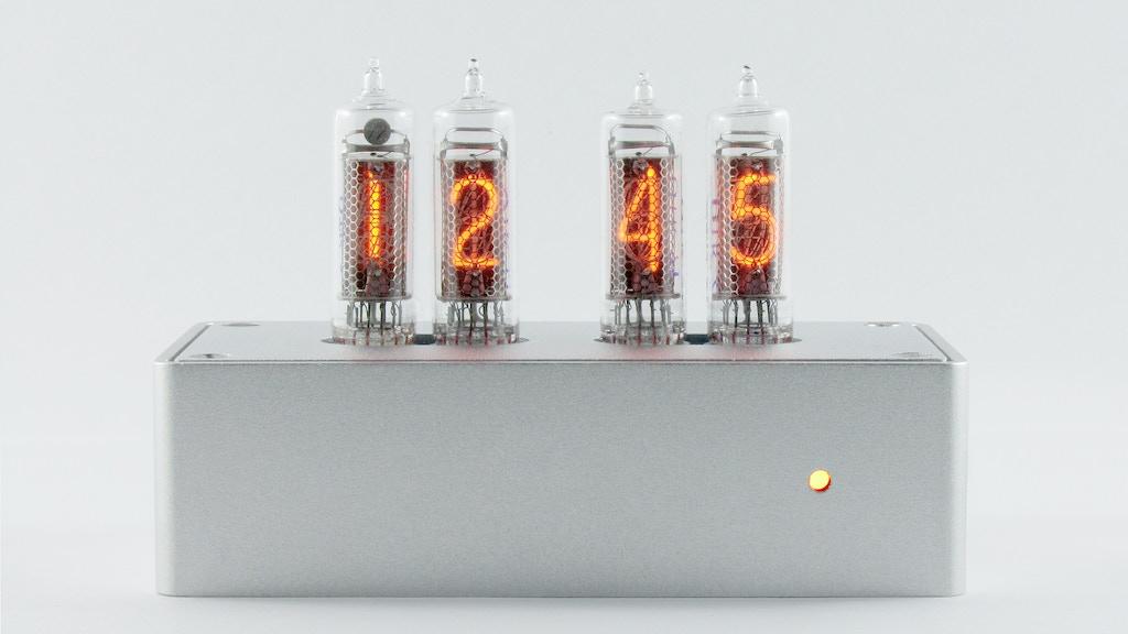 Blub -  A modern retro tube clock project video thumbnail