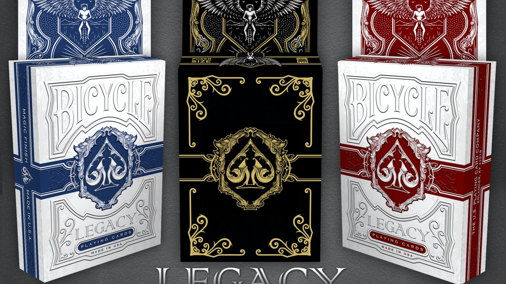Project image for LEGACY, Bicycle® Playing Cards by 4PM DESIGNS