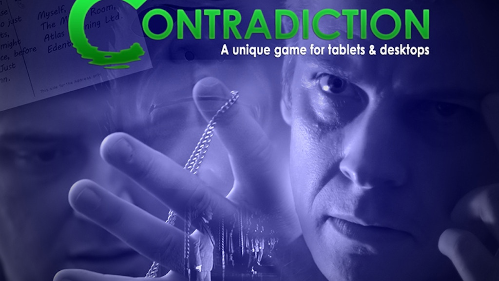 Contradiction project video thumbnail