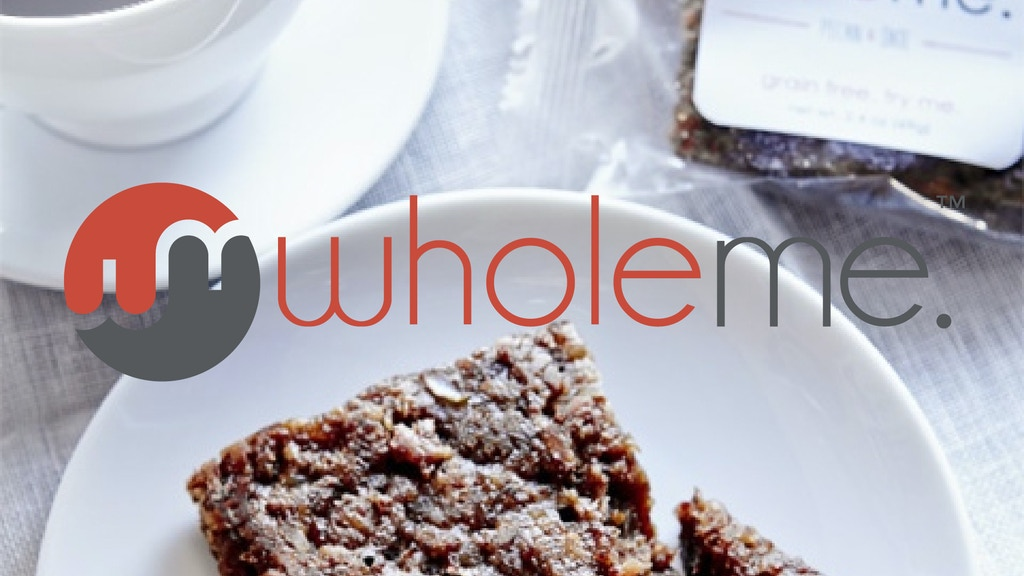 WholeMe:  SuperSnacks for You (and Me) project video thumbnail