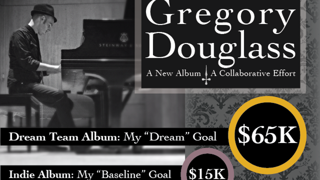 Gregory Douglass | A New Album | A Collaborative Effort project video thumbnail