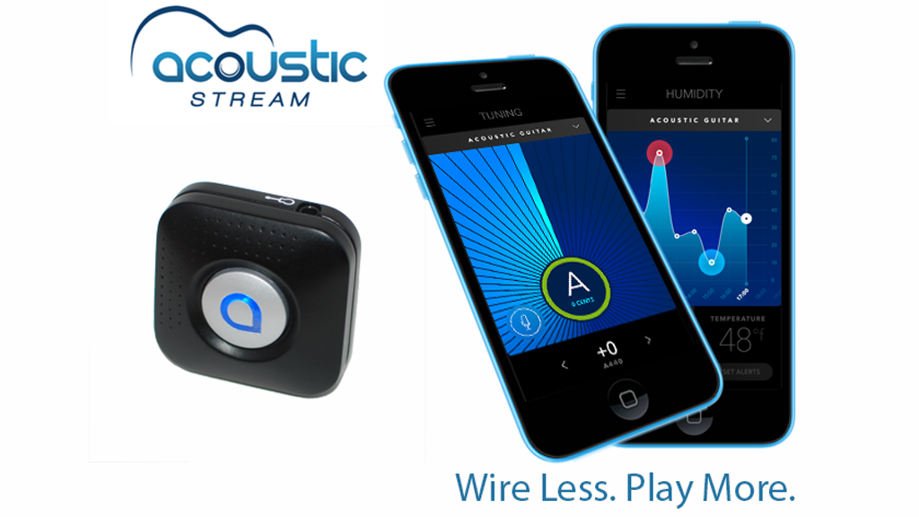 Acoustic Stream: the Guitarist's Wireless 4-in-1 Companion project video thumbnail