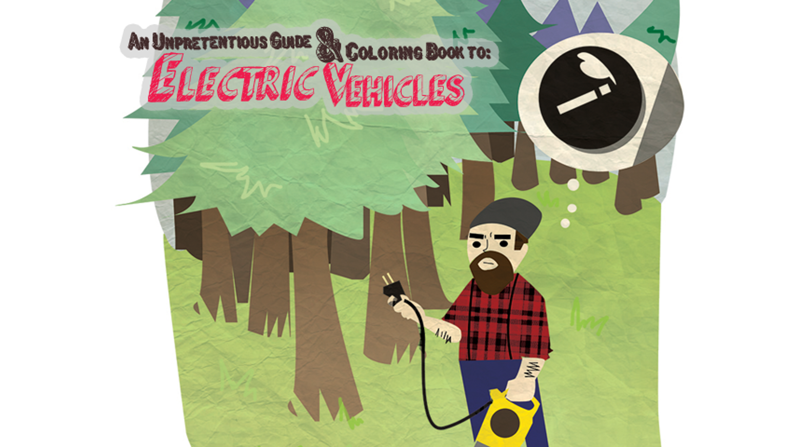 Coloring book with guide - An Unpretentious Guide Coloring Book To Electric Vehicles