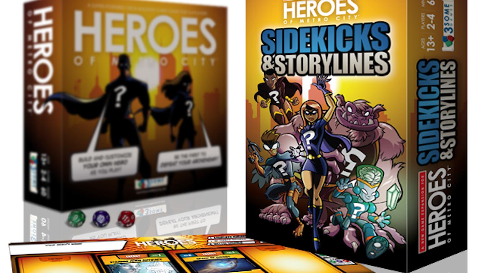 Heroes Of Metro City Sidekicks Storylines