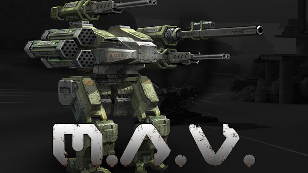 M.A.V. - Modular Assault Vehicle project video thumbnail