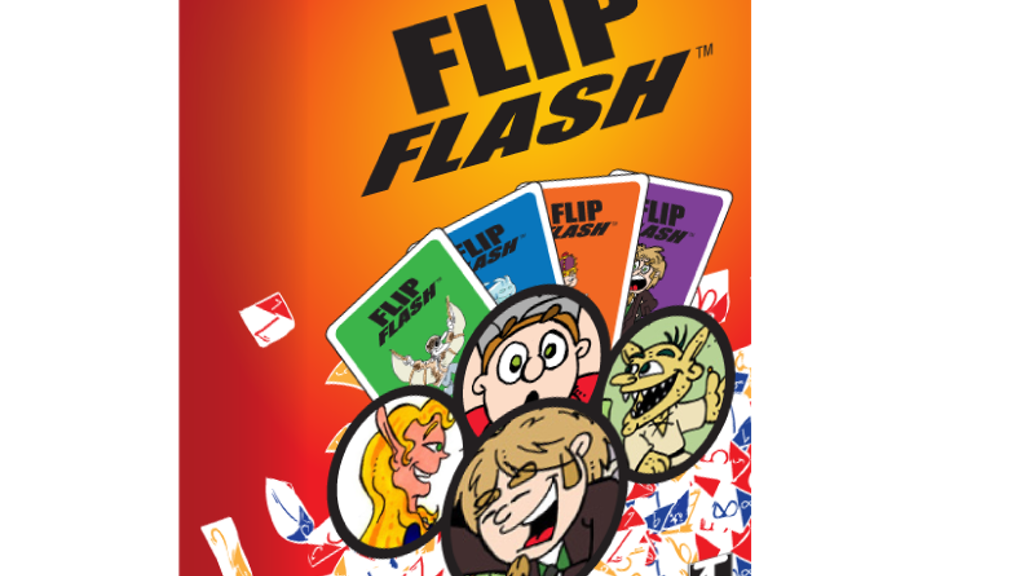 FLIP FLASH! A super fast new card game from Naomi Tripi. project video thumbnail