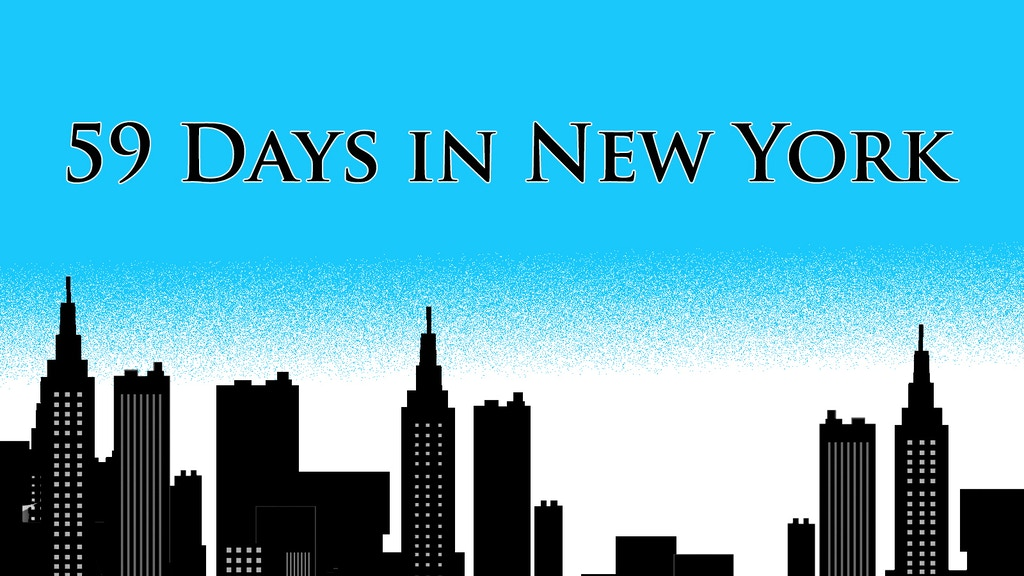 59 Days in New York - A Musical Comedy for Online Audiences project video thumbnail