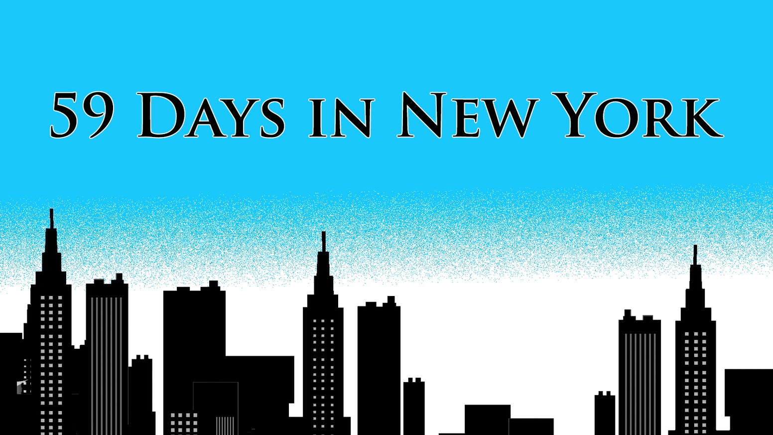 59 Days in New York is a musical about tight budgets and big dreams.
