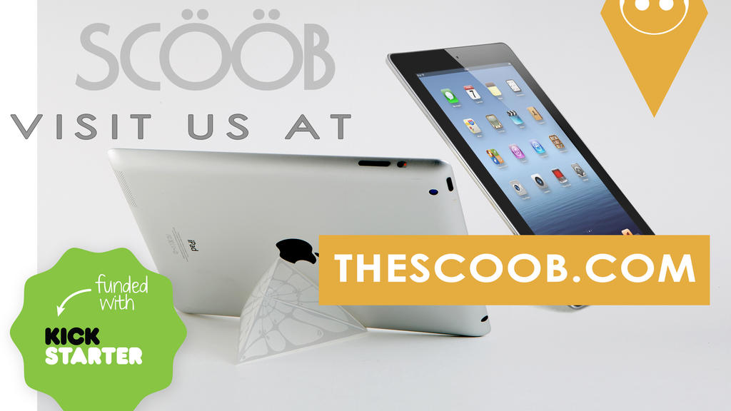 Scööb - the stand for your tablet project video thumbnail