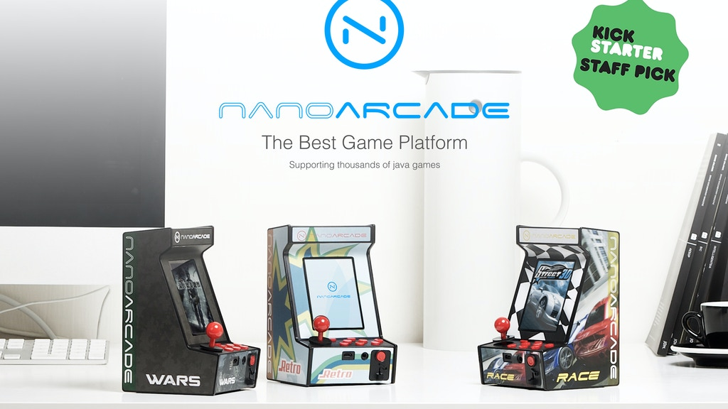 Meet Nanoarcade, The World's Smallest Arcade Gaming System project video thumbnail