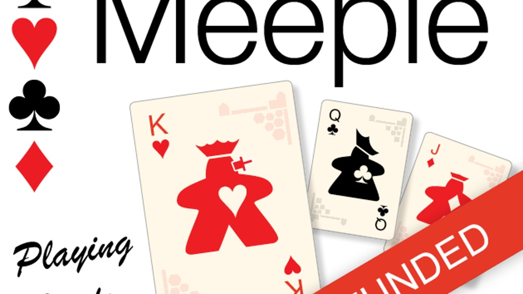 Meeple Playing Cards - Final Hours! project video thumbnail