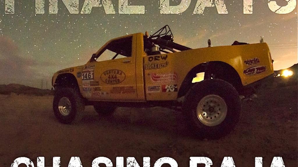Chasing Baja: The Javier Avila Documentary project video thumbnail