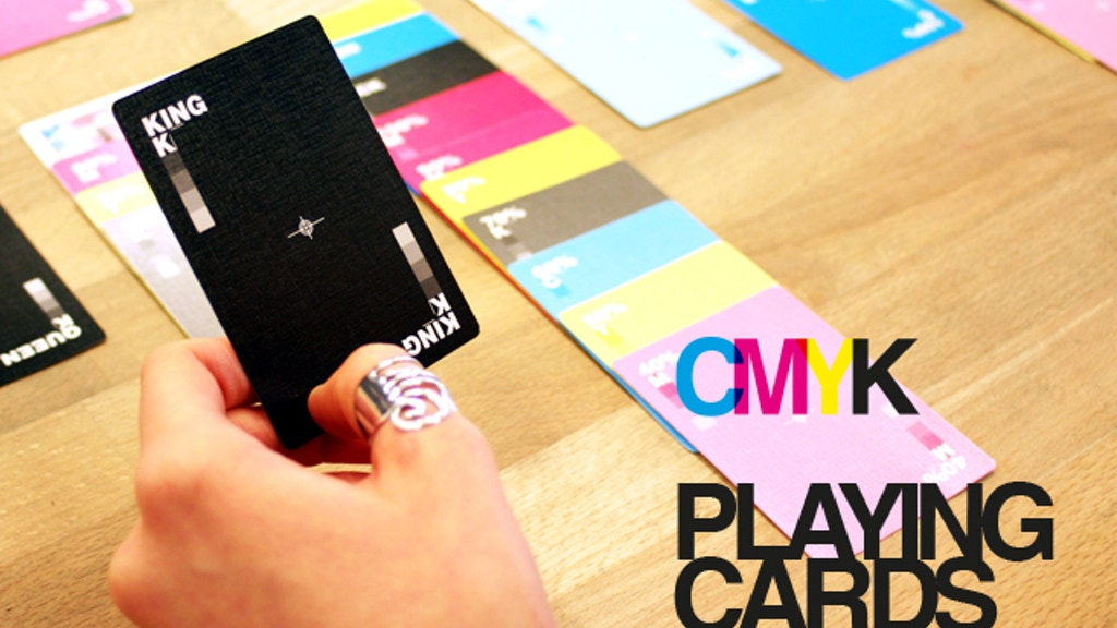 CMYK Playing Cards USPCC deck project video thumbnail