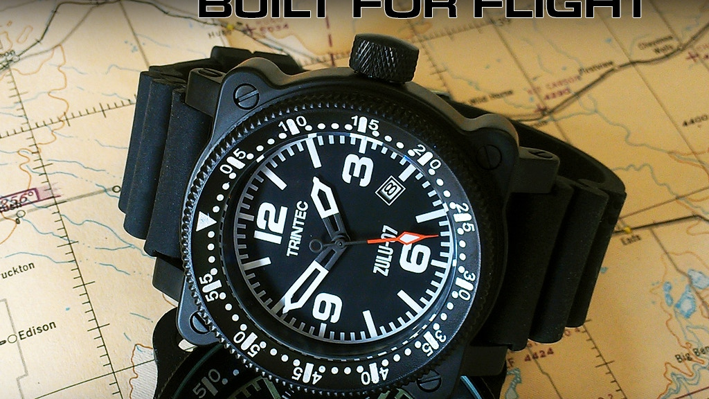 ZULU-07 PRO - Aircraft Inspired Automatic Wrist Watches project video thumbnail