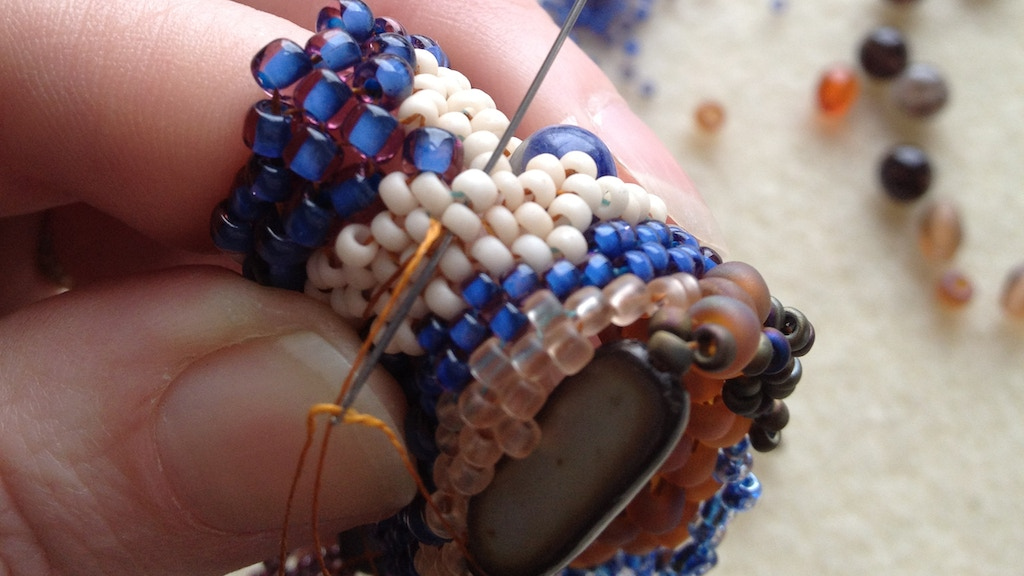 Freeform Peyote Beading 2 project video thumbnail