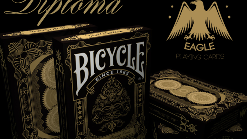 Project image for Diploma Bicycle® Deck Of Luxury Playing Cards