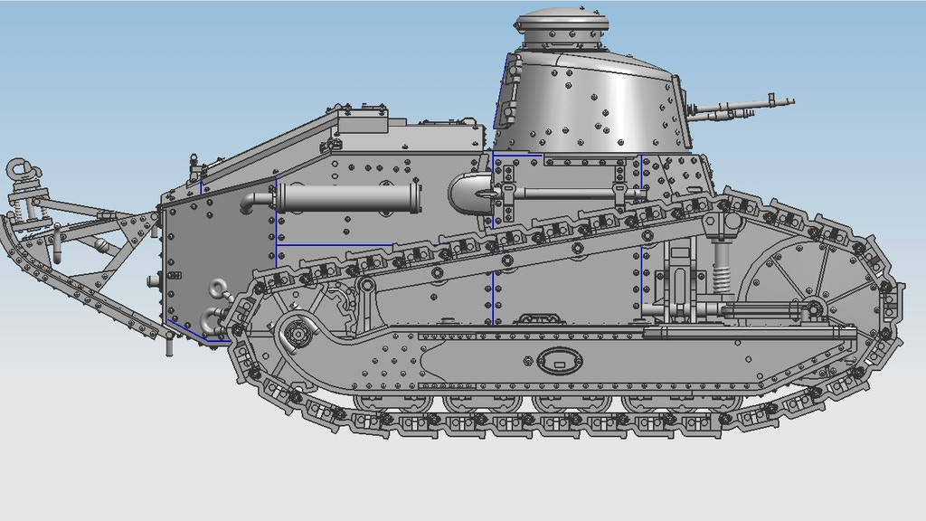 Project image for Russo/Finn Winter War 28mm Scale Tanks! (Canceled)