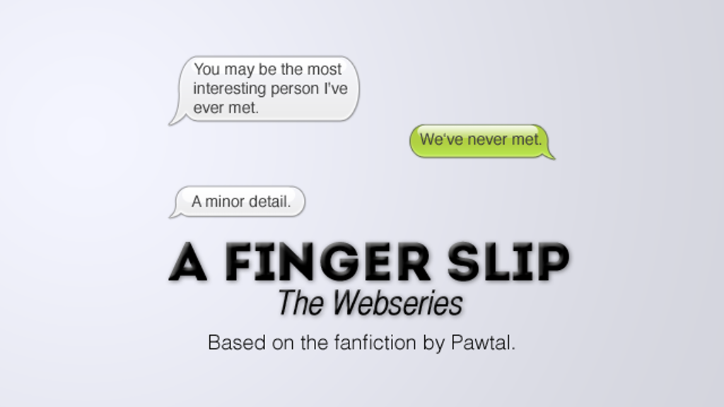 A Finger Slip: Web Series project video thumbnail