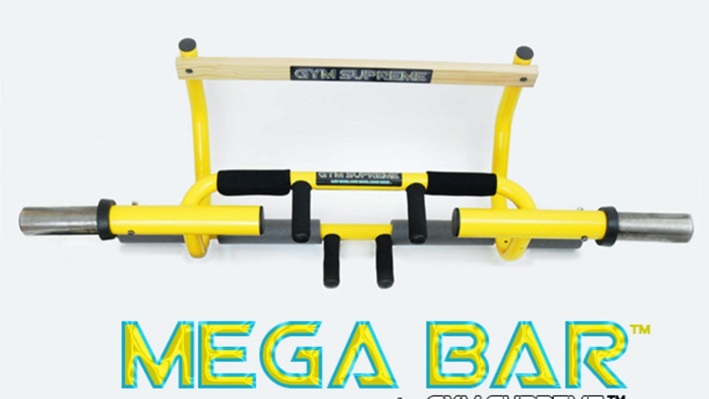 Mega Bar: The most versatile and affordable workout product. project video thumbnail