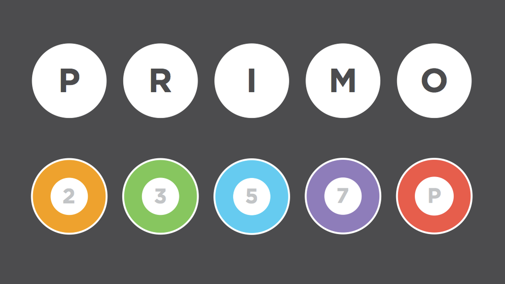 Primo: the beautiful, colorful, mathematical board game project video thumbnail