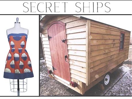 Secret ships caravan a nomadic shop for global design by for Home goods mobile