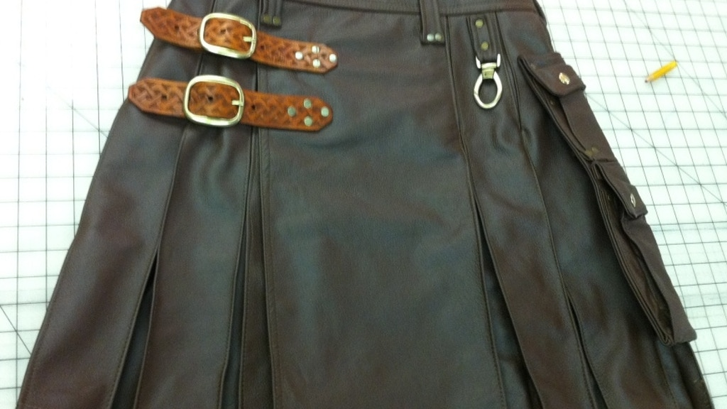 Leather couture: Custom built kilts and accessories project video thumbnail