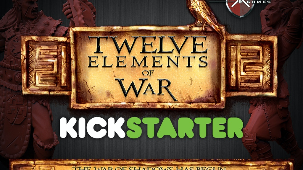 Project image for Twelve Elements of War - Fantasy Miniatures Campaign