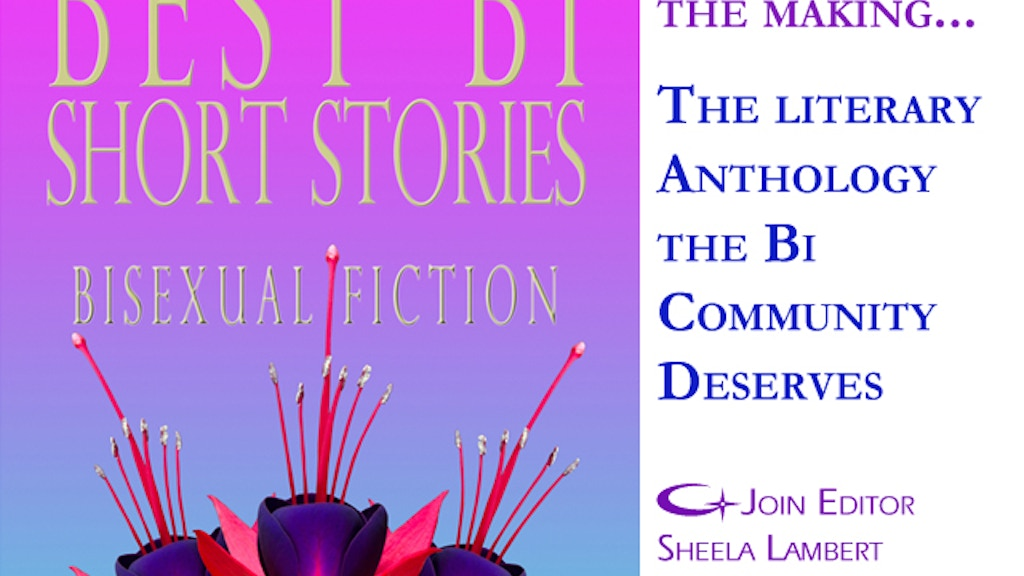 Best Bi Short Stories:Anthology of Bisexual Literary Fiction project video thumbnail