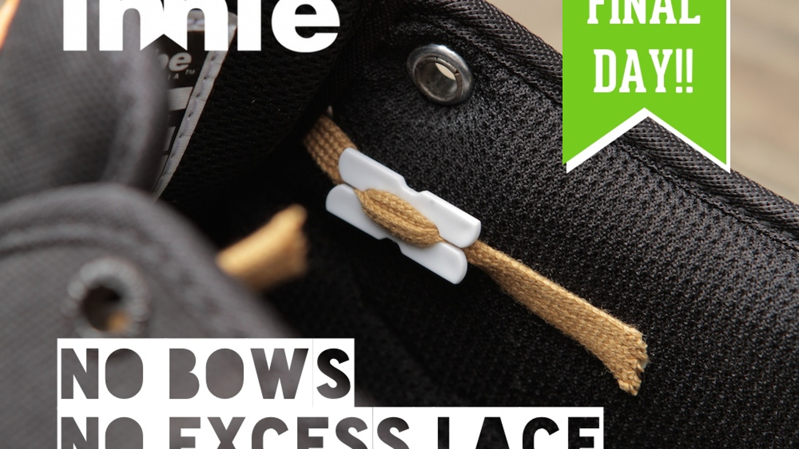 Shoelaces always coming undone is annoying and tucking them into your shoe is uncomfortable. CUT LOOSE to improve style and comfort.