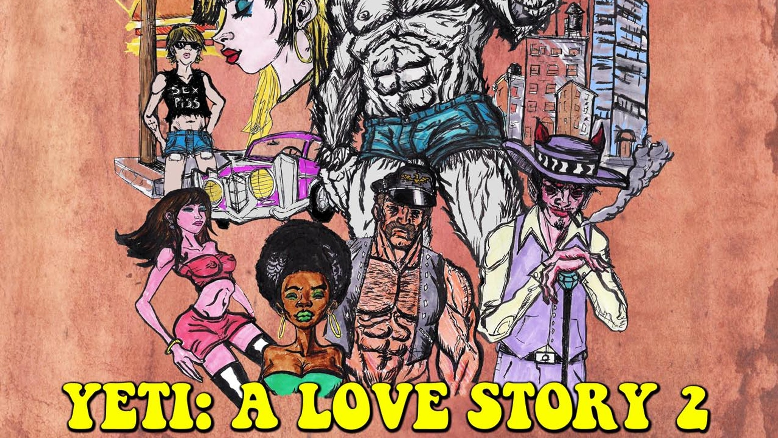 YETI: A LOVE STORY 2: LIFE ON THE STREETS by Jim Martin