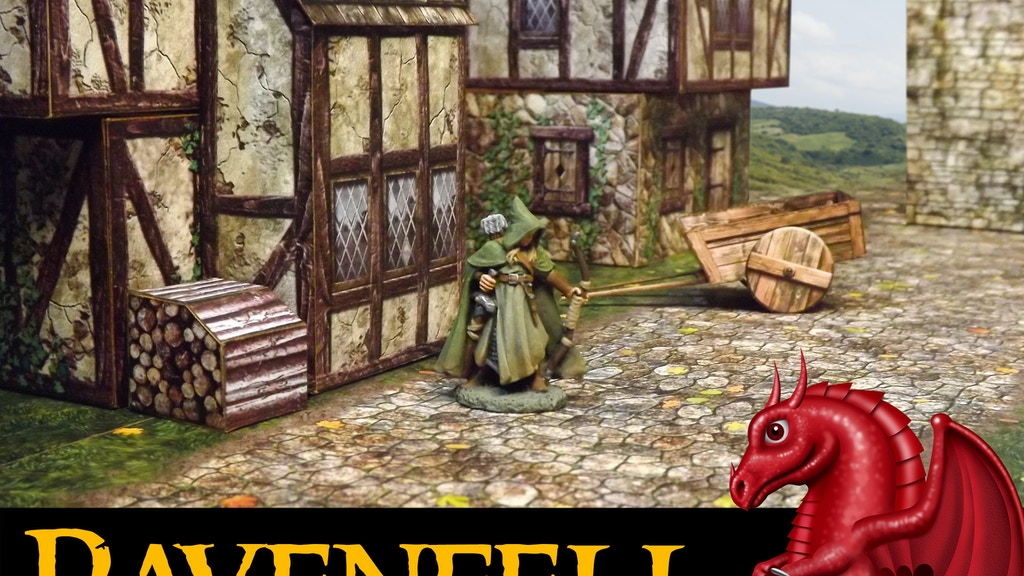 RAVENFELL 28mm Fantasy Village project video thumbnail