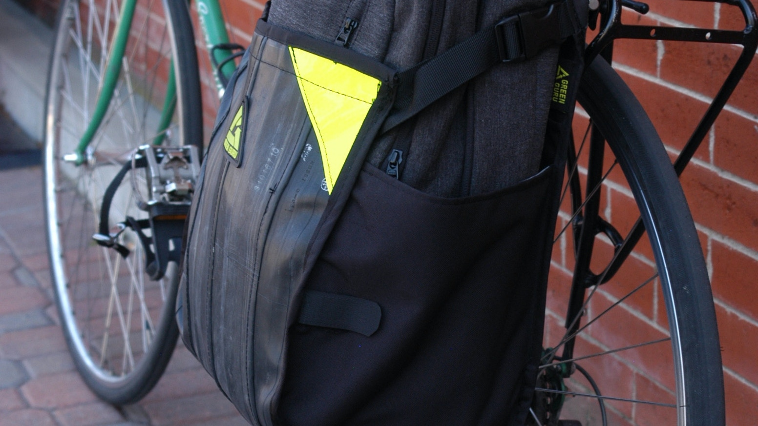 Freerider Pannier For Urban Bike Commuting Made In Usa By