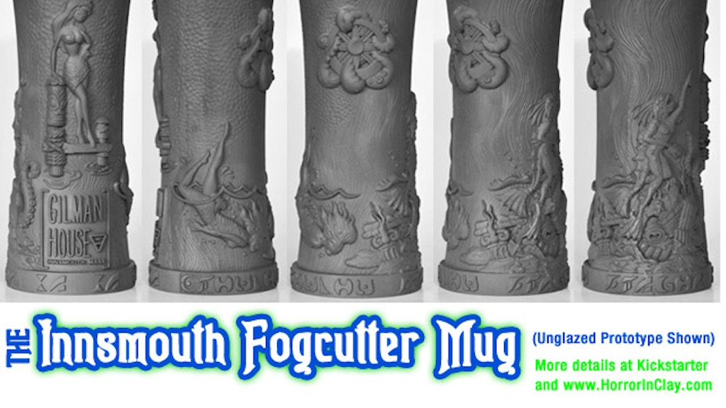 The Innsmouth Fogcutter Tiki Mug from Horror In Clay project video thumbnail