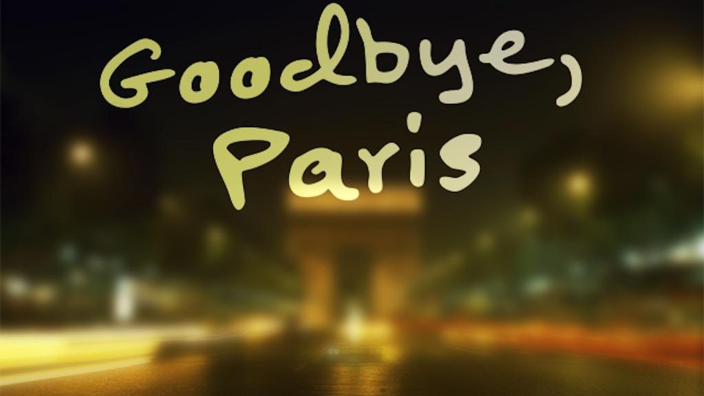 Goodbye Paris: A Collaborative Memoir project video thumbnail