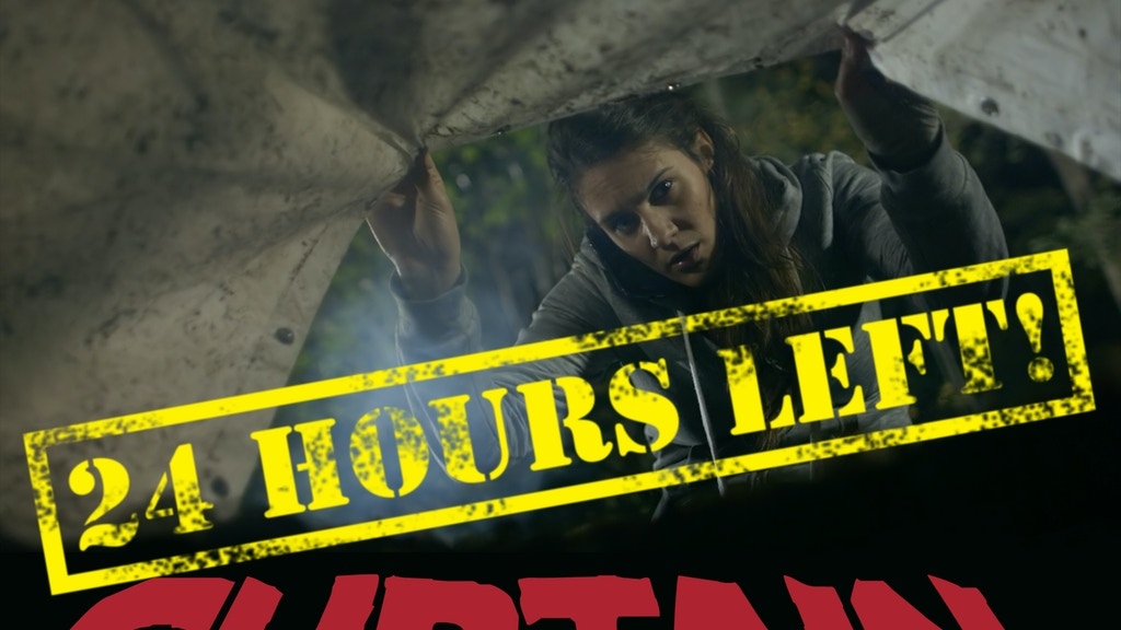 CURTAIN: indie horror feature ready for post-production! project video thumbnail