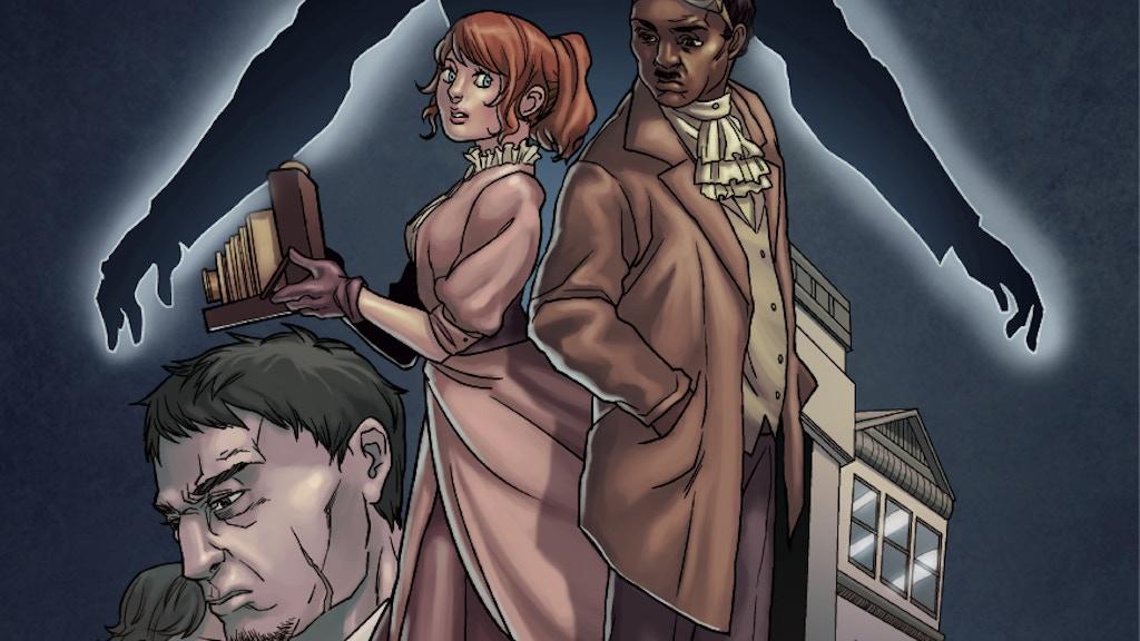 Boston Metaphysical Society - Steampunk Comic project video thumbnail