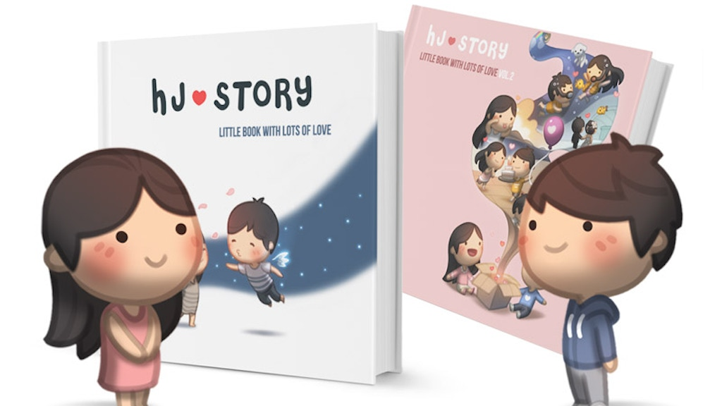 HJ-Story Book Vol.1 & 2 project video thumbnail