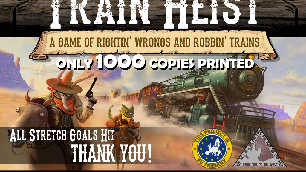 Train Heist: A Co-operative Train Robbery Board Game! project video thumbnail