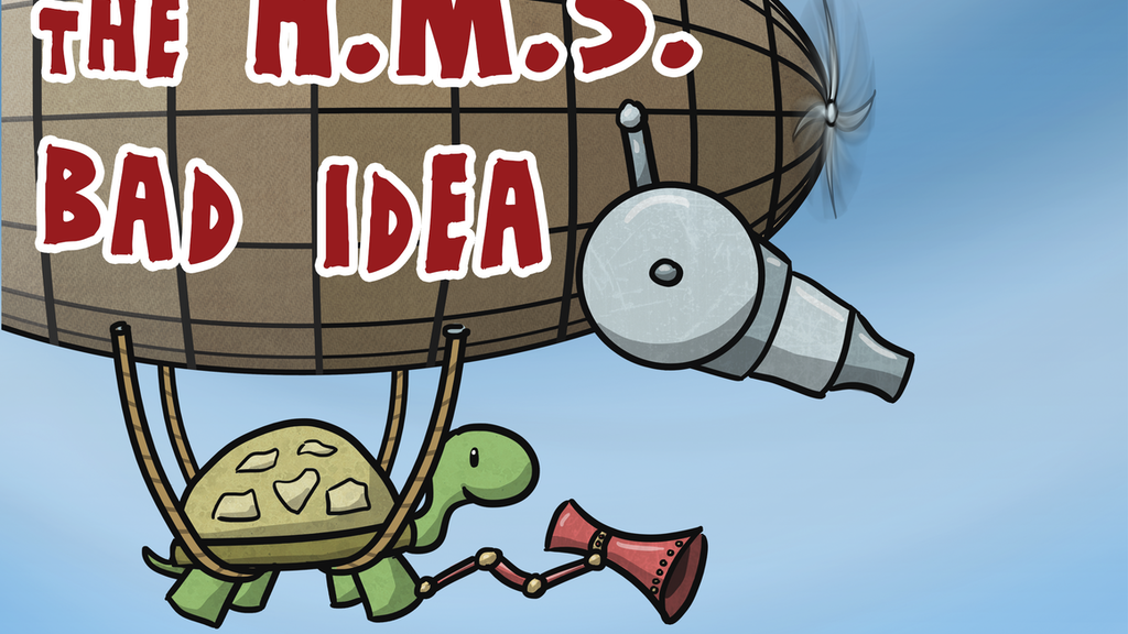 The H.M.S. Bad Idea: An Anti-Self-Help Comic Collection project video thumbnail