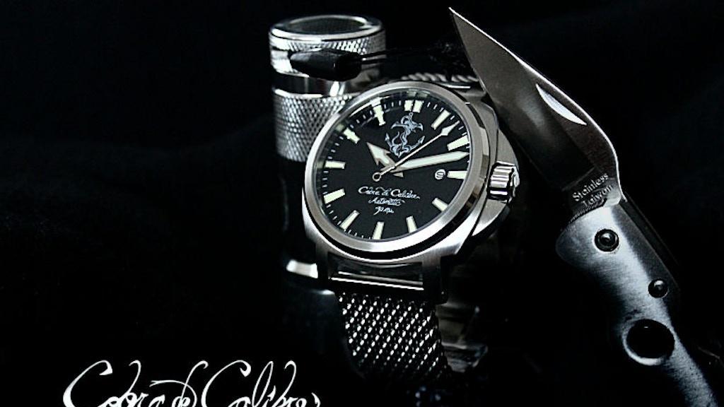 Cobra de Calibre Watches project video thumbnail