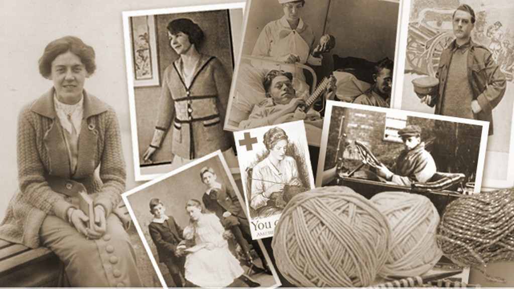 Knitted clothing for a First World War film, Tell Them of Us project video thumbnail