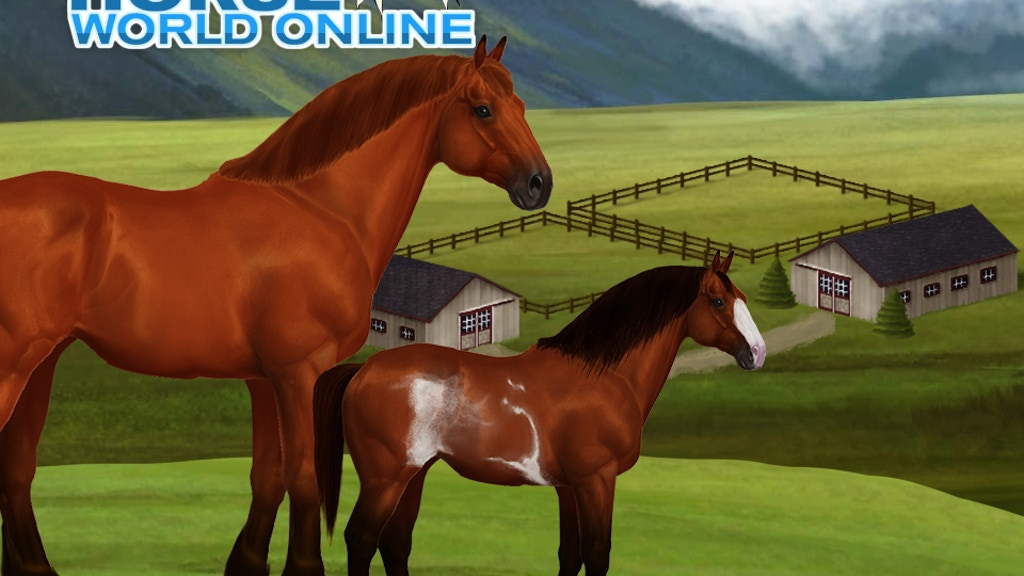Horse World Online - A horse breeding game project video thumbnail