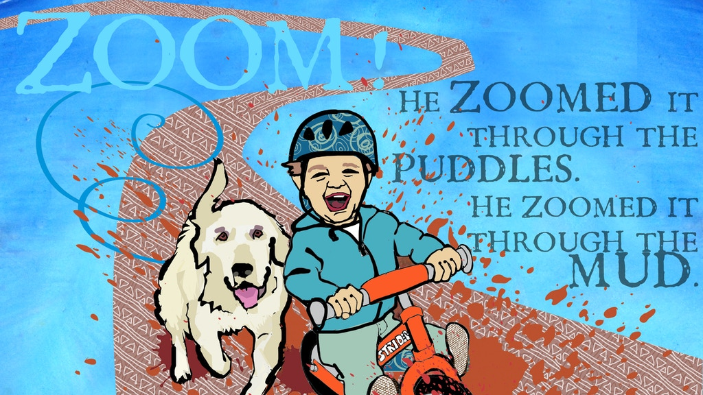 Zoom! The story of a boy and his balance bike project video thumbnail