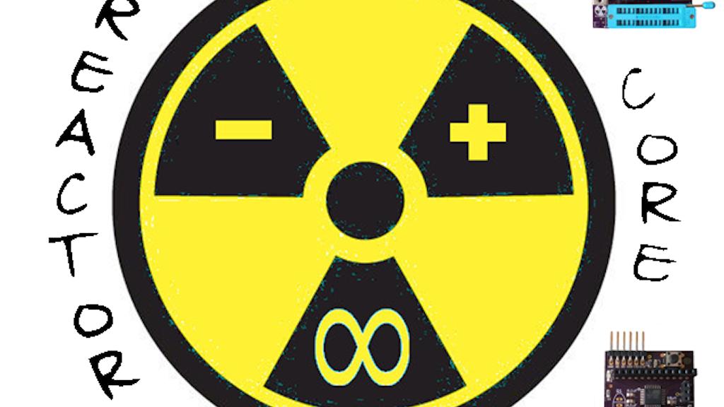 Reactor core arduino avr programmer diy soldering kit