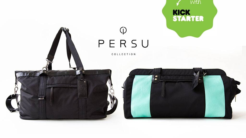 PERSU: Redefining Gym Bags for the Modern & Active Lifestyle project video thumbnail