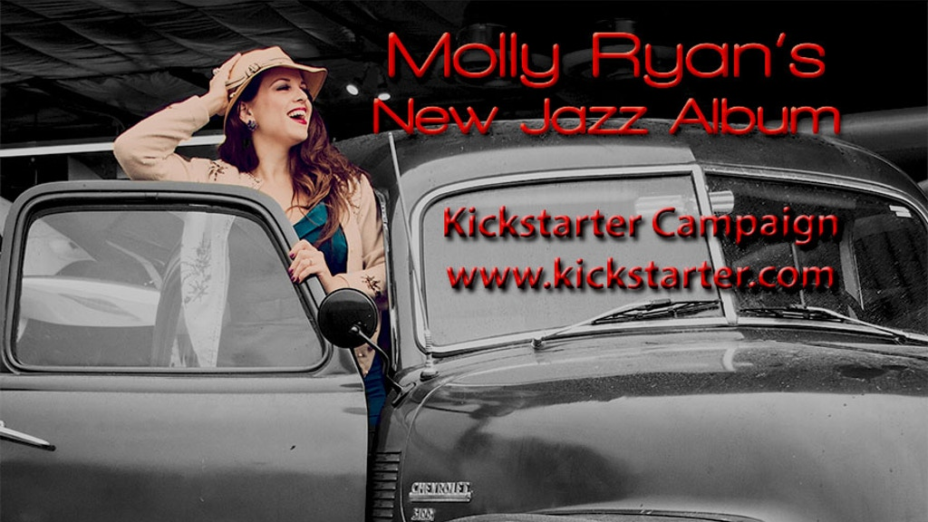 Molly Ryan's Hot New Jazz Album & Music Video! project video thumbnail