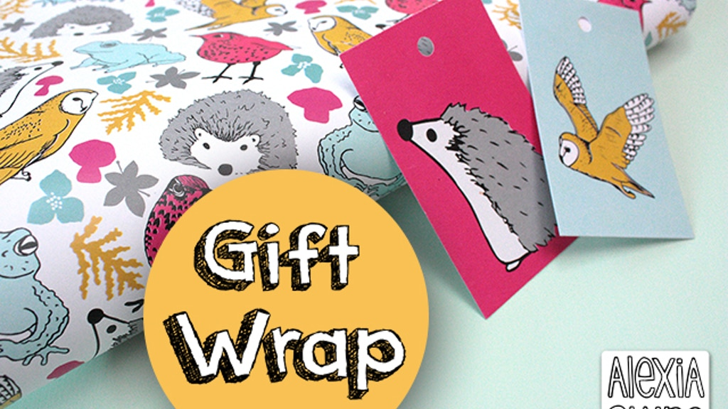 British Wildlife Illustrated Gift-Wrap project video thumbnail