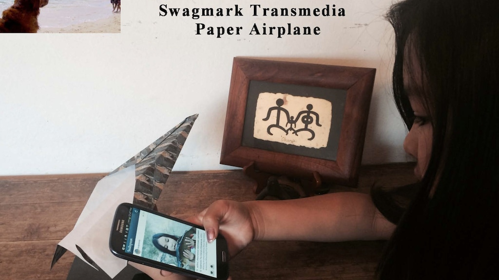 Swagmark, the Transmedia Paper Airplane project video thumbnail
